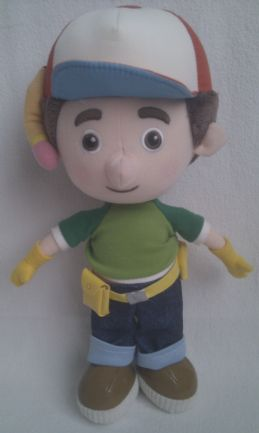 Adorable Big 'Handy Manny' Plush Toy
